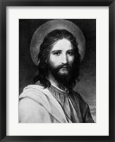 Framed Painting Titled The Christ Portrait Of Jesus Christ
