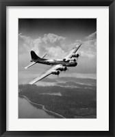 Framed 1940s Us Army Aircraft World War Ii B-17