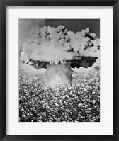 Framed 1950s 1960s Atomic Bomb Symbolic Montage