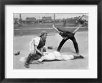 Framed 1950s Little League Umpire
