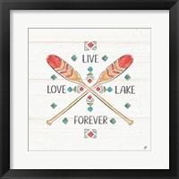 Framed Lake Moments VI