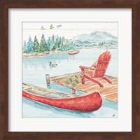 Framed Lake Moments IV