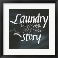 Framed Laundry Room II