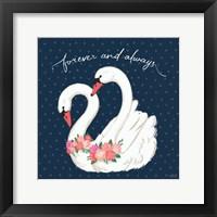 Framed Swan Lake VI