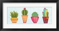 Framed Southwest Cactus VI