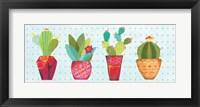 Framed Southwest Cactus V