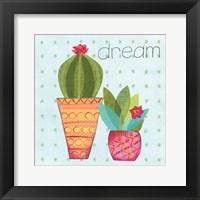 Framed Southwest Cactus IV