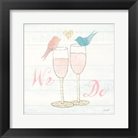 Framed Lovebirds IV