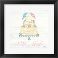 Framed Lovebirds I