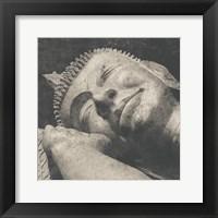 Framed Reclining Buddha