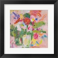 Framed Pink Impressionism
