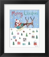 Framed Holiday Festivities IV