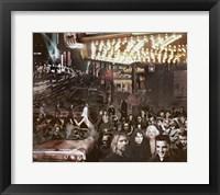 Framed Hollywood Night