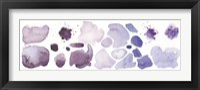 Framed Watercolor Stones I