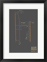 Framed AUS Airport Layout
