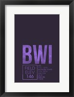 Framed BWI ATC