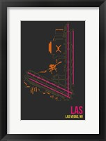 Framed LAS Airport Layout