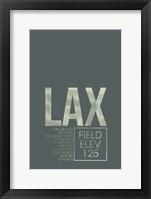 Framed LAX ATC
