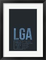Framed LGA ATC