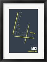 Framed MCI Airport Layout