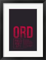Framed ORD ATC