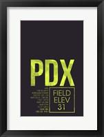 Framed PDX ATC