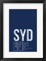 Framed SYD ATC