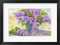 Framed Lilacs in a Vase