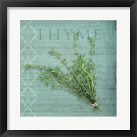 Framed Classic Herbs Thyme