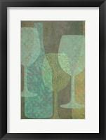 Framed Art of Wine - Burgundy