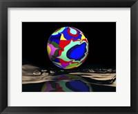 Framed Kandinsky Sphered
