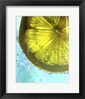 Framed Lemon Wheel