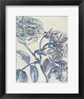 Framed Belle Fleur I Crop