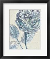 Framed Belle Fleur III Crop