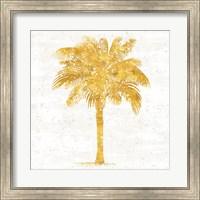 Framed Palm Coast II On White