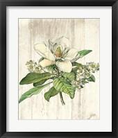 Framed Magnolia de Printemps no Words