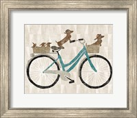 Framed Doxie Ride ver II