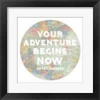 Hemisphere I Framed Print