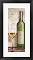 Framed Wine in Paris V White Wine