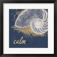 Framed Calm Seas IX