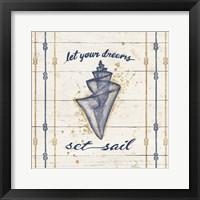 Framed Calm Seas III