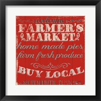 Framed Farmers Market X