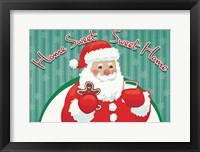 Framed Retro Christmas V Bright