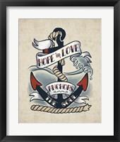 Framed Sailor Wisdom I
