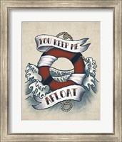 Framed Sailor Wisdom II