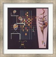 Framed Les Trois Ovales, c.1942