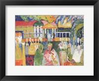 Framed Ladies in Crinolines, 1909