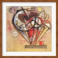 Framed On Points, 1928