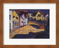 Framed Murnau Burggrabenstrasse, 1908