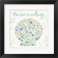 Seaside Blossoms I Framed Print